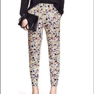 H&M print pull-on pant